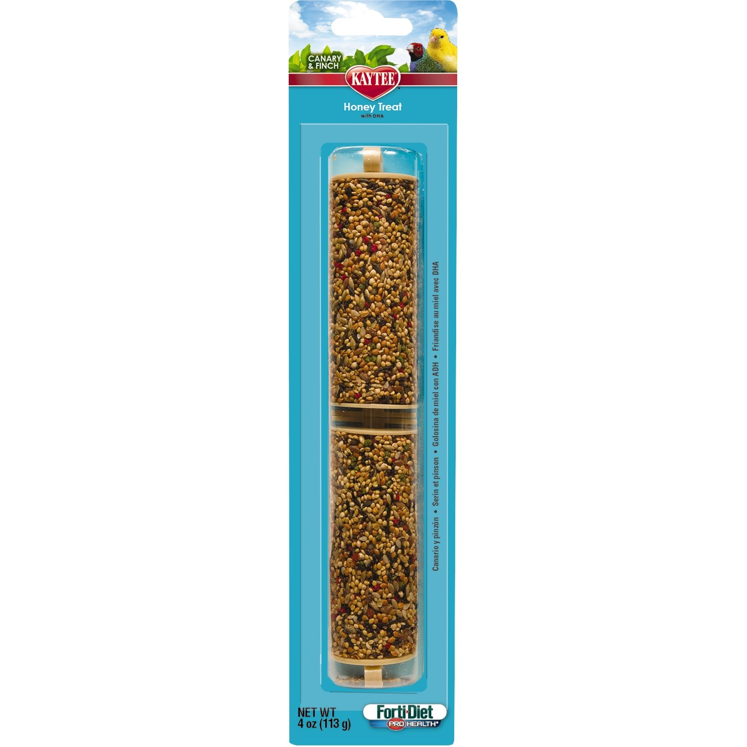 Kaytee Forti-Diet Pro Health Honey Stick Canary & Finch Treats