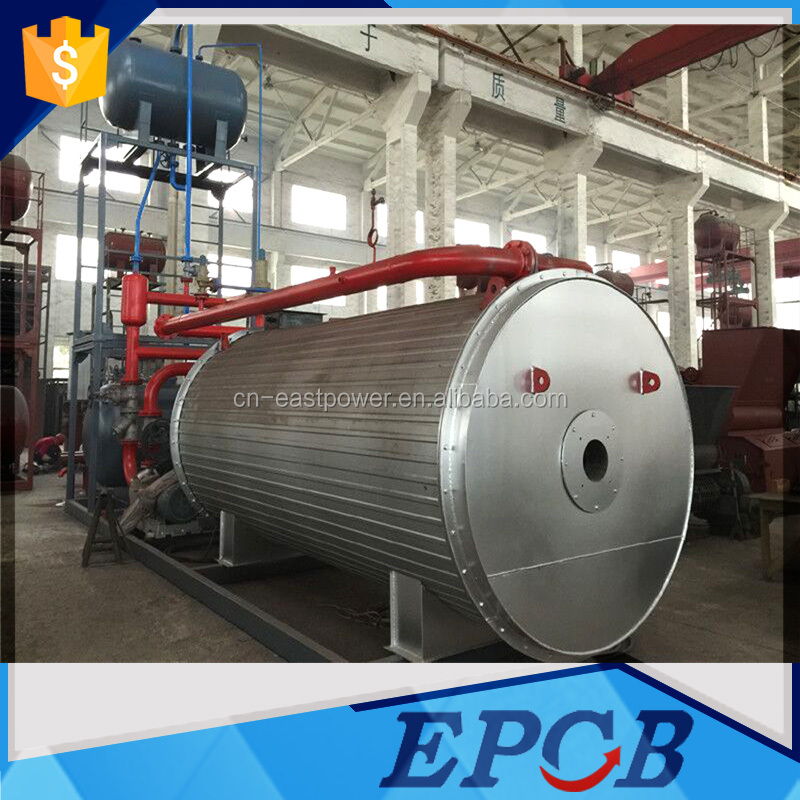 Gas-Fired Installation finished Industrial Hot Oil Multi Fuel Fired Boiler
