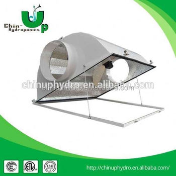 Hydroponic Lighting Double Ended Reflector/ 6 Inch Hydroponic Grow ...