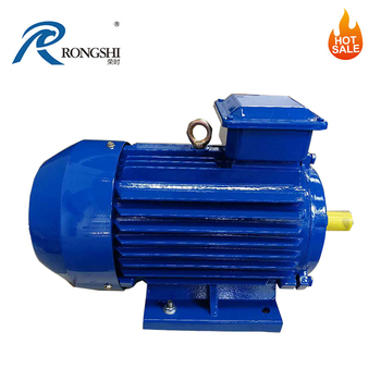 Premium Efficiency Asynchronous Motor With External Rotor