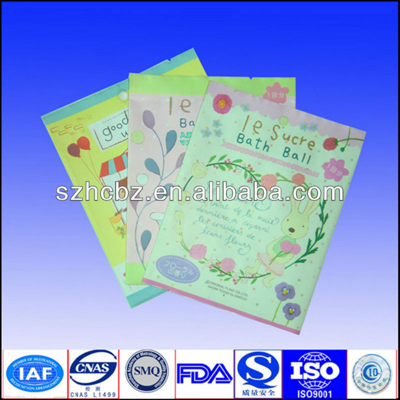 printed plastic cosmetic bag free sample