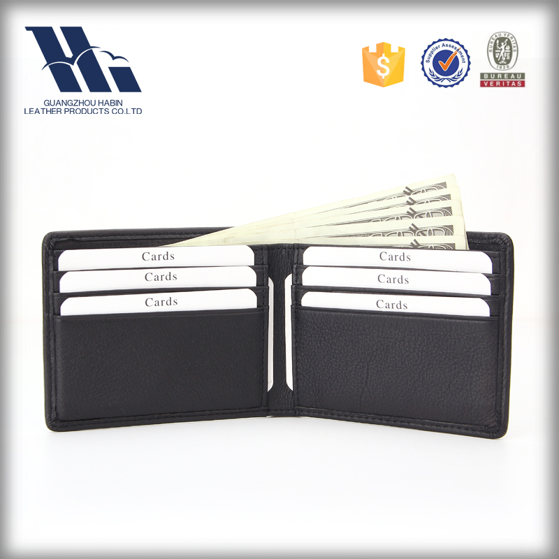 Fashion Mens wallet Luxury Student Travel purse RFID Purse baellerry leather wallet