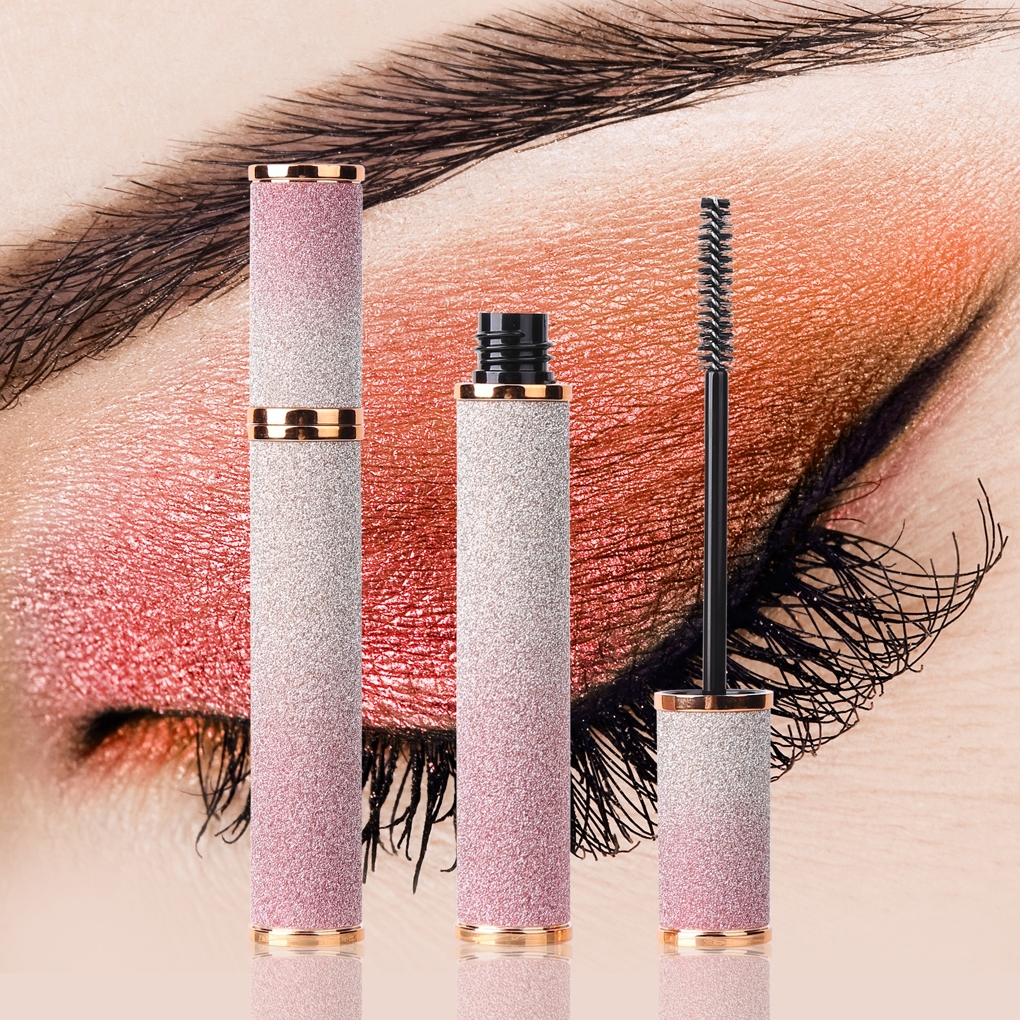 LT33 Colour mascara Lengthen Eyelashes Mascara Make Your Own Brand Makeup Vegan 4D Fiber Mascara
