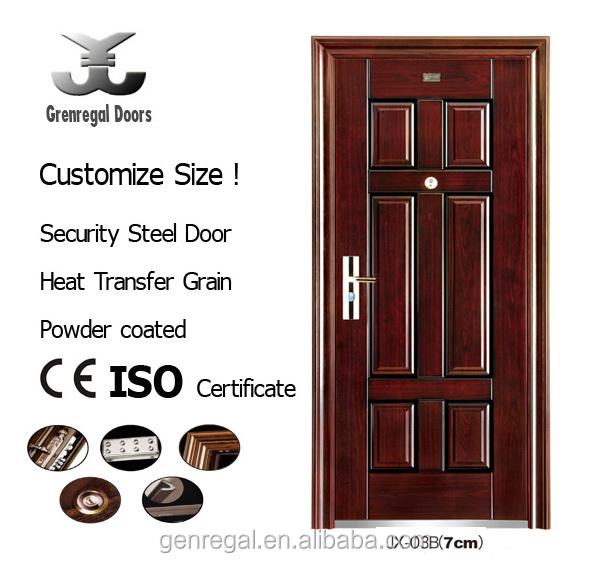 CLASSIC Design Reinforced STEEL Safety Door Designs For Home