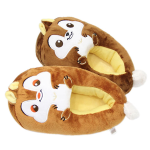 28e90d30a83 Squirrel Slippers Wholesale