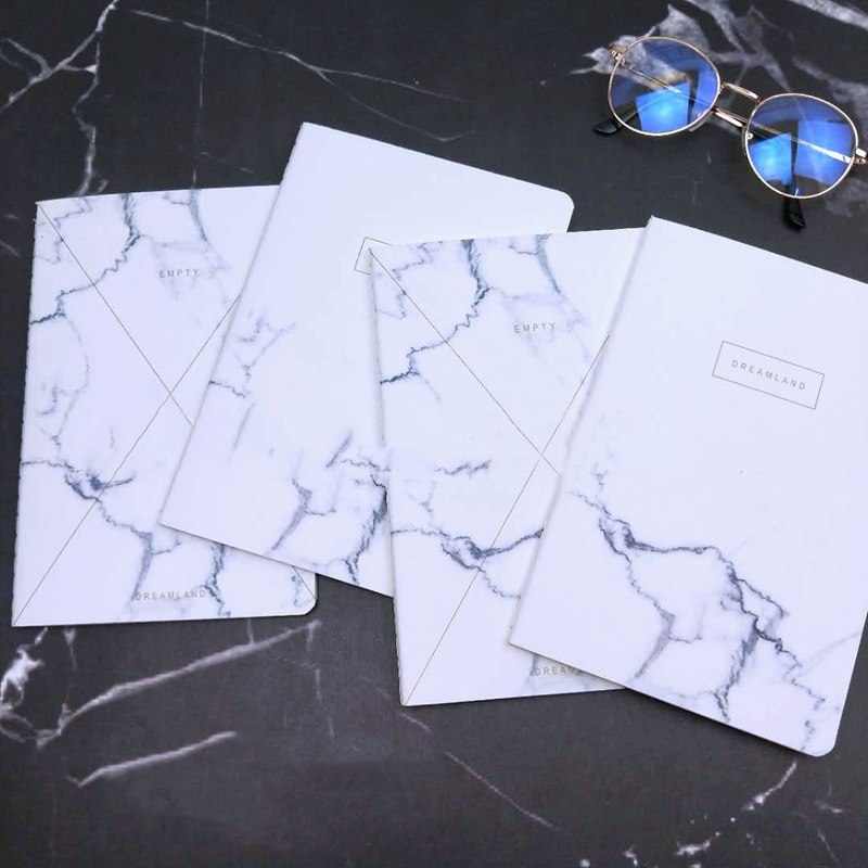 Myway couverture rigide bloc-notes journal papeterie cadeau fournitures scolaires japonais marbre conceptions cahier pour les enseignants