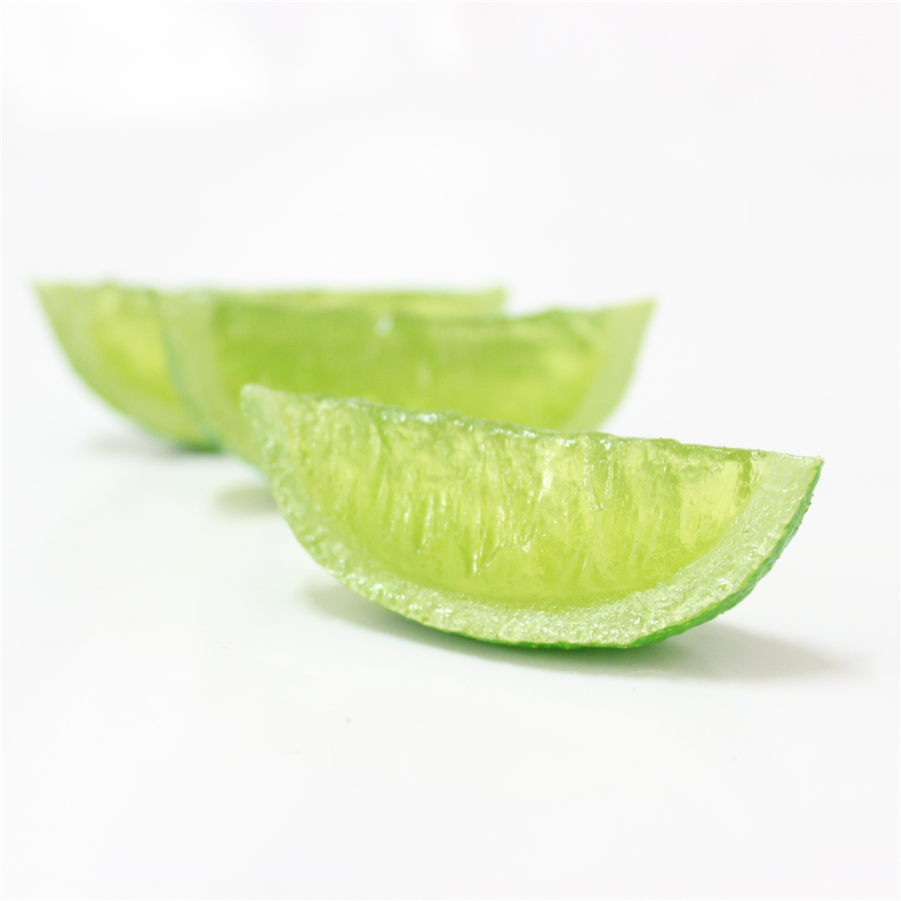 decorative artificial fruit fake lime slices