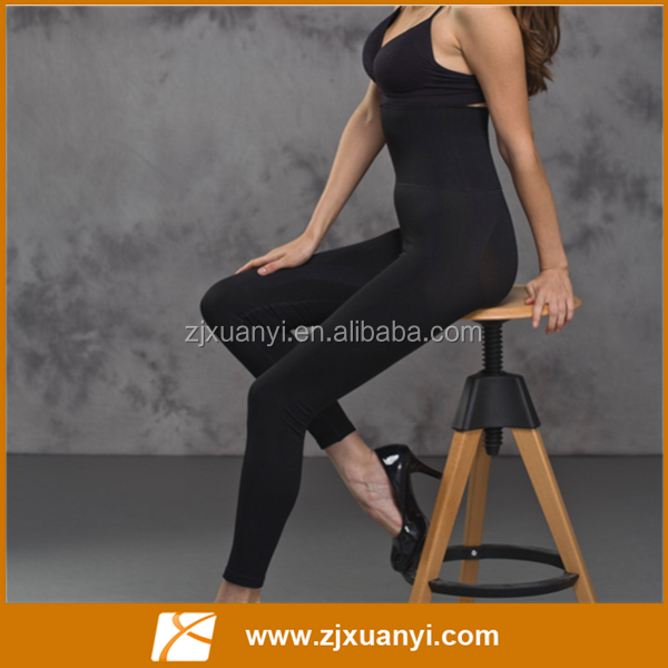 2016 New Design Black Slimming Pants Leg Slimming Long Sports Pants Sexy Women Yoga Pants
