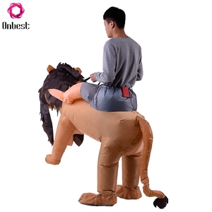 Wholesale China Cheap Mascot Animal Lion Inflatable Costume For Kids