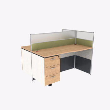 Double office desk Two Person Double Office Desk With Divider Whiteboard Custom Made Furniture Ivchic Double Office Desk With Divider Whiteboard Custom Made Furniture