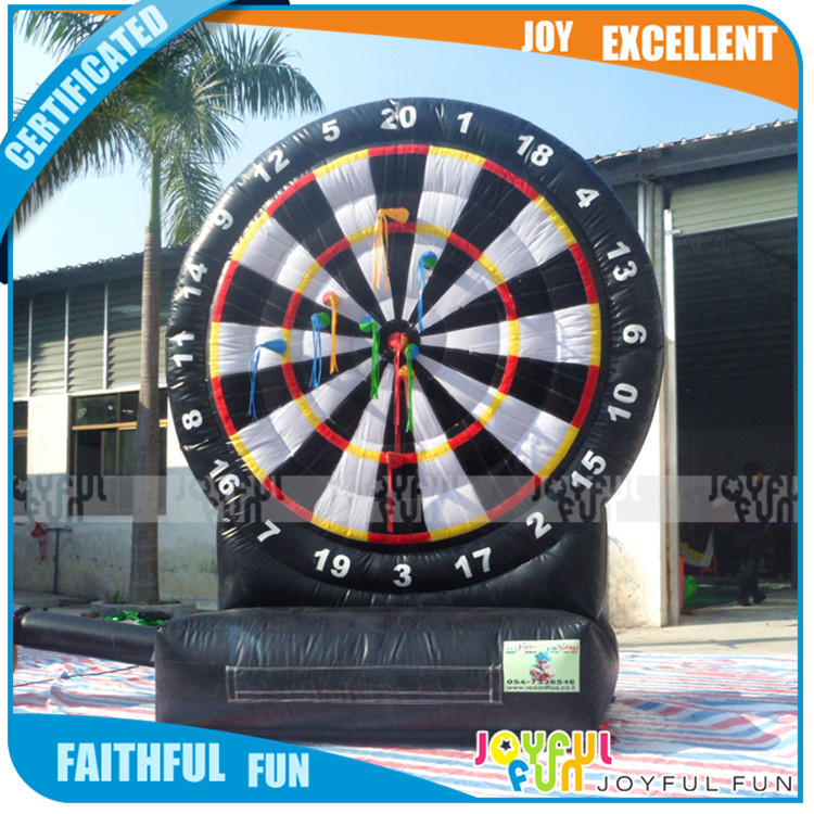 Factory Inflatable Target Adult Sport Game for Sale, Giant Inflatable Soccer Dart Board Game for Toys