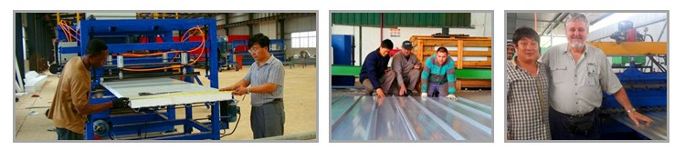 Leading Manufacturer Galvanized Steel C Purlin Cold Roll Forming Machine steel profile metal roof truss roll former
