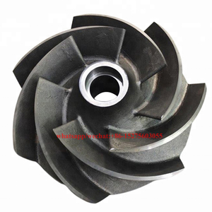 vertical submersible liquid pump impeller