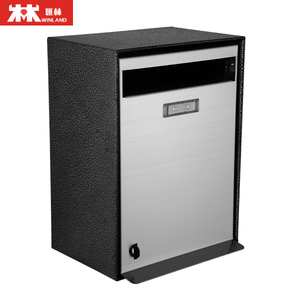 Good Quality Products Outdoor Letter Box Powder Coated Mailbox Metal Post Box
