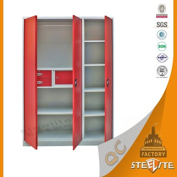 New Product Bedroom Cabinet Metal Clothes Cabinet / Personal Steam ...