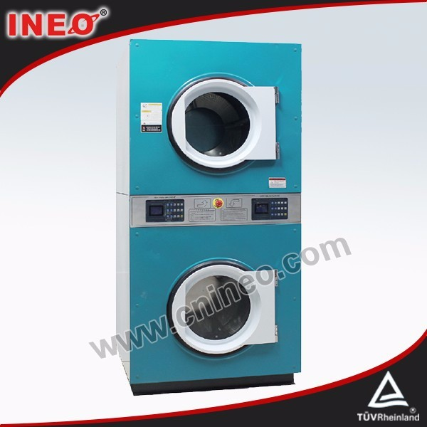 Automatic double-dryer used dry cleaning machine for sale/washer dryer