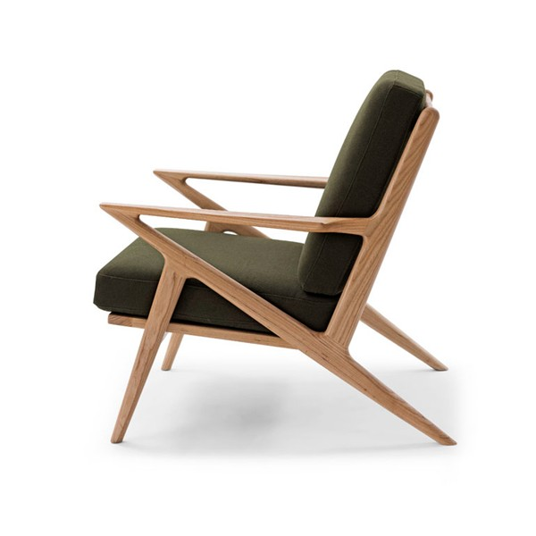 famous designer furniture replica solid wood high quality cozy poul jensen selig z chair
