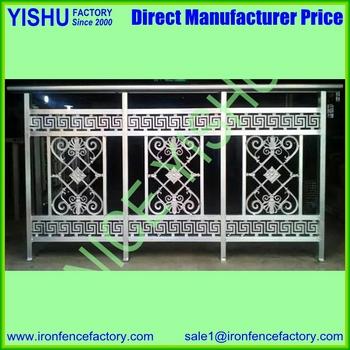 Decorative Aluminum Stair Railing/ Cast Aluminum Baluster/spindles Wood  Stair Handrail Pillar