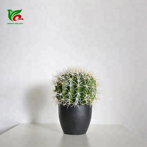 Decorative 28cm Ball Cactus Artificial Cactus Plant And Succulents For Home Decor