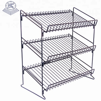 customized light duty countertop wire rack