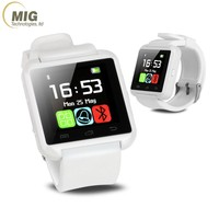 High Quanlity Bluetooth Android A1 Smart Watch Multi-language Mobile Phone Accessories U8 Smart Watch
