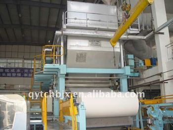 Taichang yankee trockenzylinder tissue papiermaschine buy yankee
