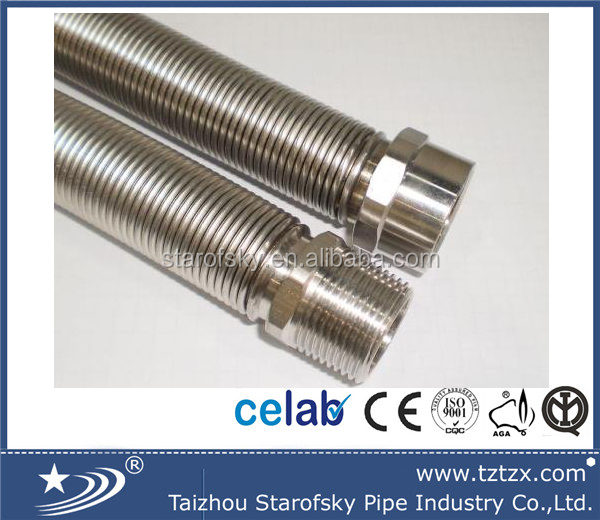 Half inch AISI304 316L water pipe in taizhou