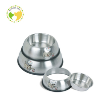 Stainless Steel Dog Feeder Bowl ,Wholesale Raised Pet Bowl