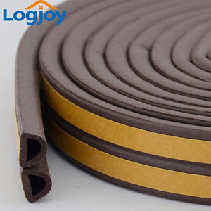 LOGJOY 3M adhesive seal EPDM foam rubber glass door/window gasket seal Rubber strip