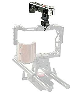 Get Quotations · Top Handle aluminium with hand grip and Cold shoe extender  for DSLR cameras and camcorders FILMCITY d0d8424631