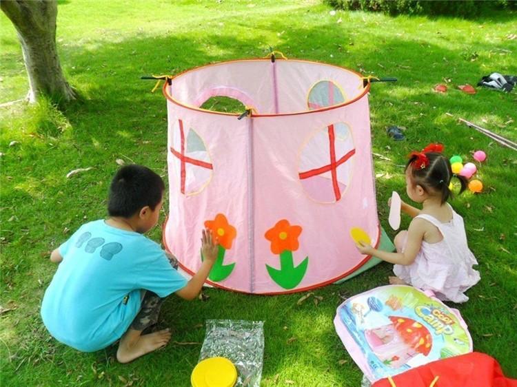 hermosa nios setas juego juguete carpa casa de juegos para nios princesa castillo juego tienda de setas