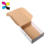 Corrugated kraft paper box and packaging box for shoes and clothes