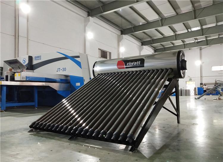 Professional 200L Compact Heat Pipe Solar Hot Water Heaters  SOLAR KEYMARK CE