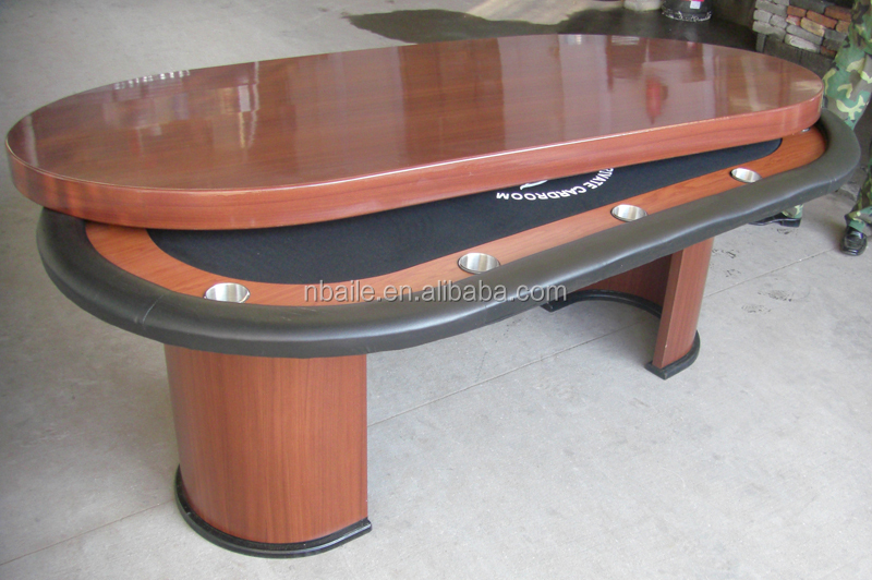 84 Inch Deluxe Poker Table With Wooden Cover