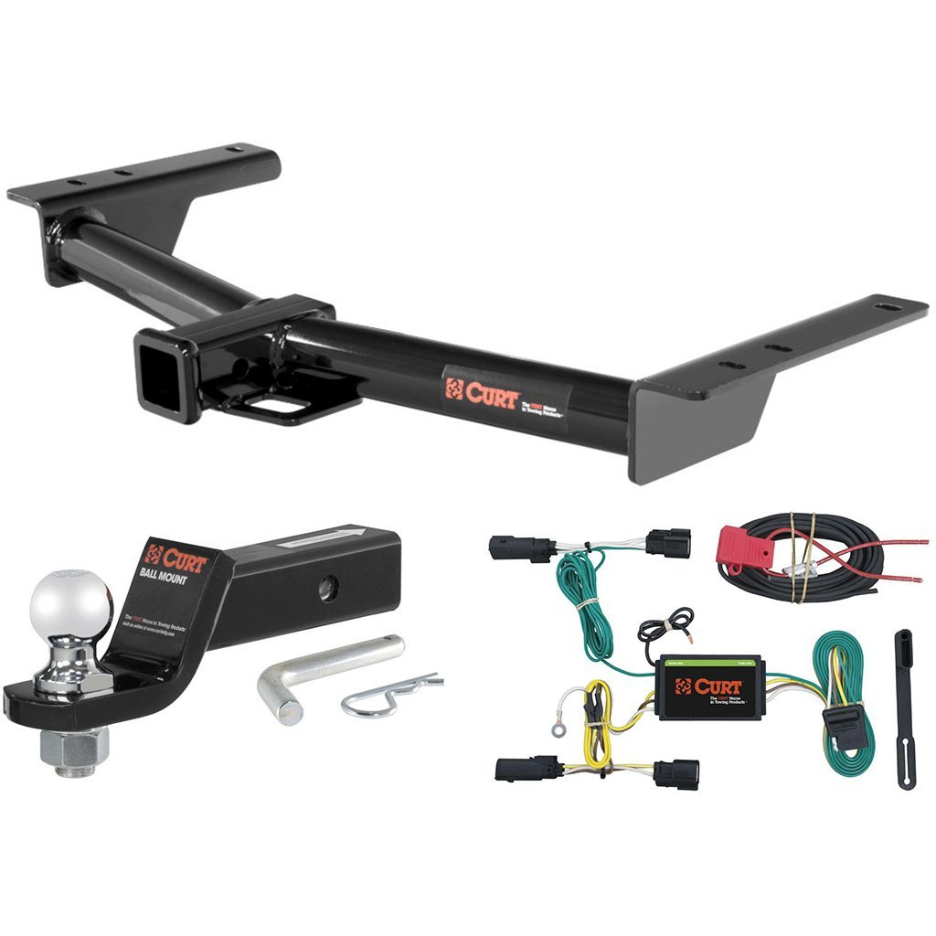 "CURT Class 3 Trailer Hitch Tow Package with 2"" Ball for 2015 Ford Transit"