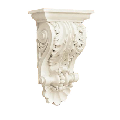 High quality polyurethane moulding HD-C01338 PU Architectural Decorative Corbels and Brackets
