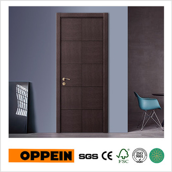 Elegant Modern Front Door Indian Simple Design Wood Door