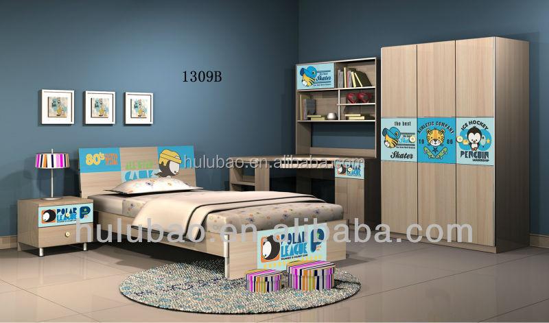 Moderna famosa usato bambini letti per camera da letto mobili in ...