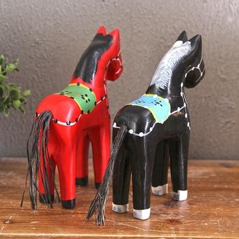 Animais Escultura Em Madeira Colorido Desenho De Mobiliario
