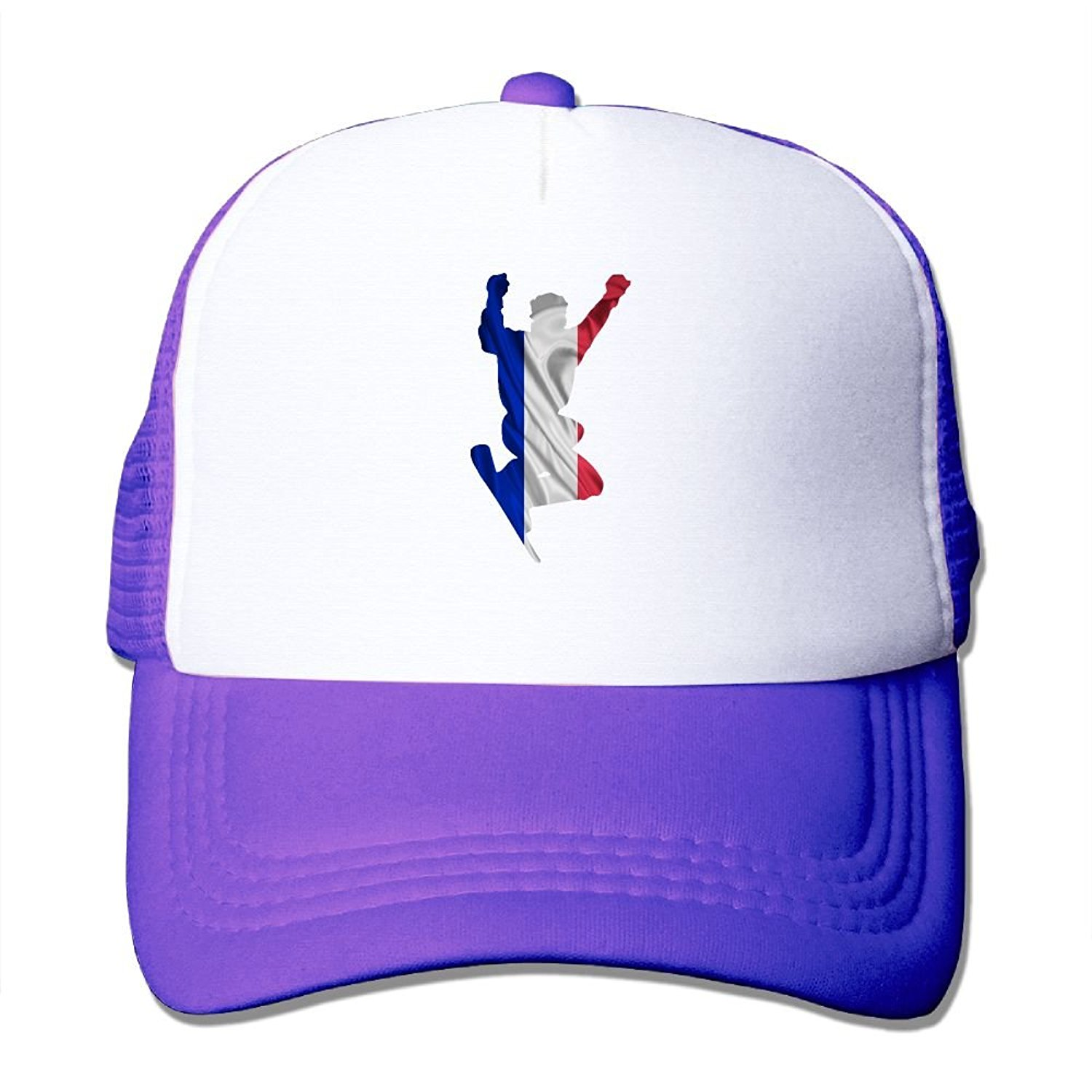 e34c512bf1ad6 Get Quotations · DO9ds Hat Nordic Two Flag Of France Men Women Adult Mesh  Cap Adjustable Sports Quick Dry
