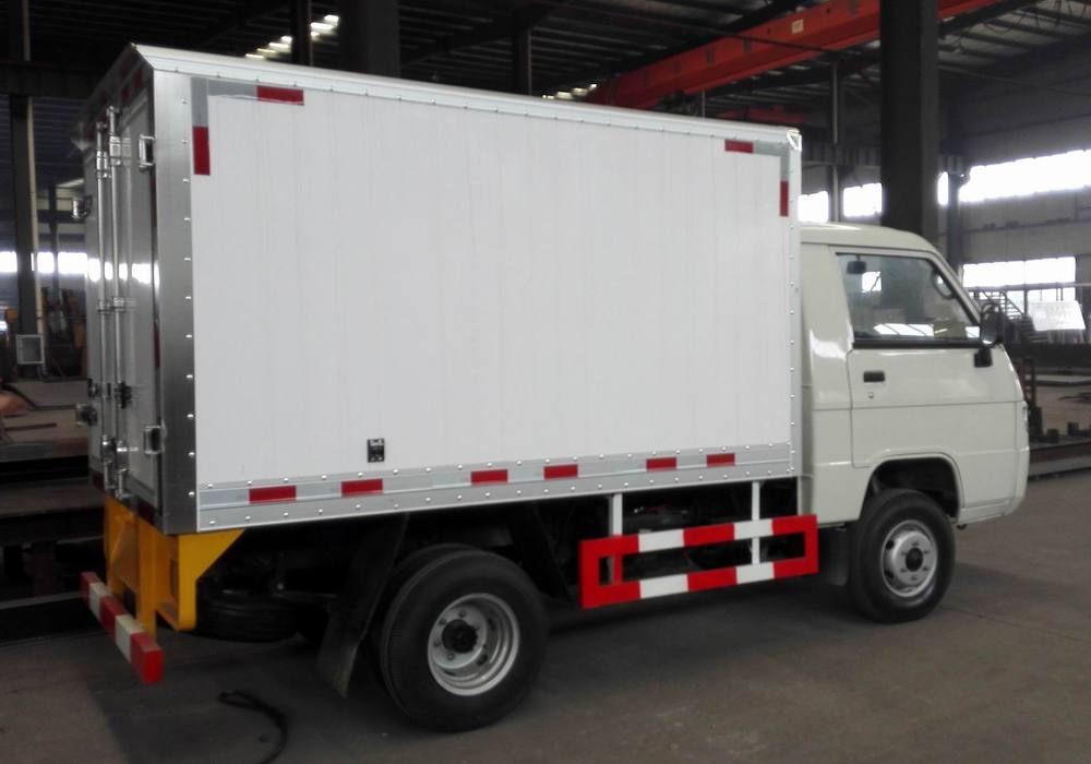 45585606b7 0.5T Refrigerated Van Truck for sale in Foton Forland Brand for Frozen Food  Delivery