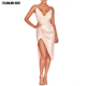 Women mature satin slip designs sleeveless wrap tube dress sex