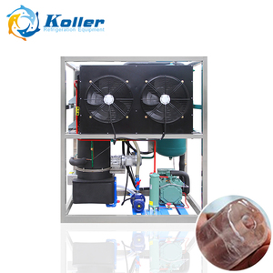 Koller edible tube ice machine beautiful 1 ton