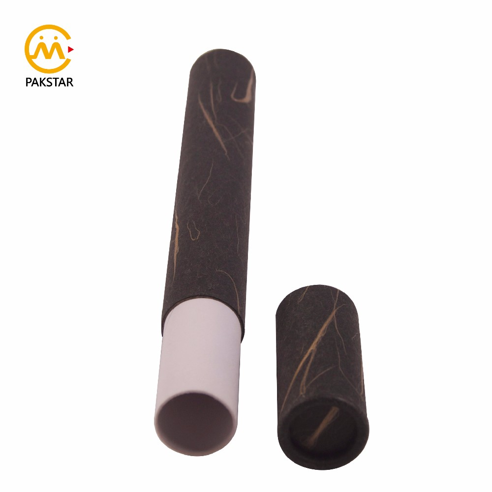 Eco friendly wholesale custom print small cardboard paper incense stick packaging tube