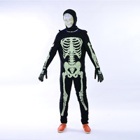 Halloween adult Masquerade costume horror skull skeleton ghost cosplay costume