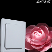 433mhz Touch Panel Switch Wireless Doorbell Rf Wifi Wall Switch