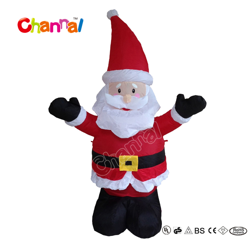 120cm High Festival Outdoor Decoration Giant Inflatable Santa Claus