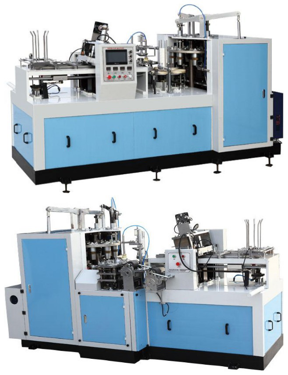 CE identification Easy operate disposable cup paper machine (ZBJ-X12)
