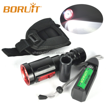Rechargeable Diving Led Flashlight,Ip66 Waterproof Portable Diving ...
