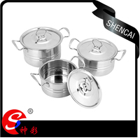 Kitchen Accessories Stainless Steel Cookware Set / Cooking Pot / Stock Pot Set